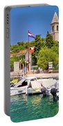 Prvic Luka Island Village Waterfront View Portable Battery Charger