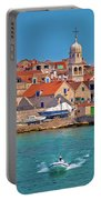 Prvic Sepurine Waterfront And Stone Architecture View Portable Battery Charger