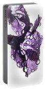 Purple Rain Portable Battery Charger