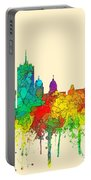Quebec City Que. Skyline Portable Battery Charger