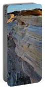 Rainbow Wave Of Sandstone In Valley Of Fire Portable Battery Charger