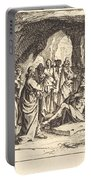 Raising Of Lazarus Portable Battery Charger