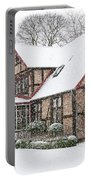 Ramlosa Brunnspark House In Winter Portable Battery Charger