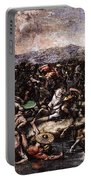 Raphael The Battle At Pons Milvius  Portable Battery Charger