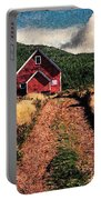 Red Barn Road Portable Battery Charger