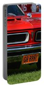 red GTO Portable Battery Charger