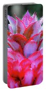 Red Pineapple Portable Battery Charger