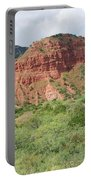 Red Rock At Caprock  Portable Battery Charger