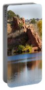 Red Rock Canyon And Garden Of The Gods Portable Battery Charger