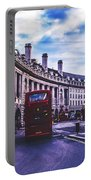Regent Street In London Portable Battery Charger