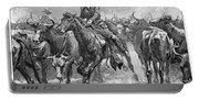 Remington: Cowboys, 1888 Portable Battery Charger