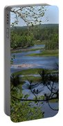River And Trees Portable Battery Charger