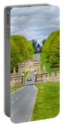 Road To Burghley House Portable Battery Charger