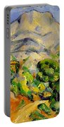 Road To The Montagne Sainte-victoire Portable Battery Charger