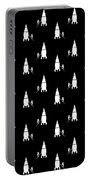 Rocket Scientist Wallpaper Portable Battery Charger