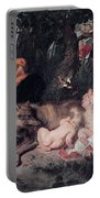 Romulus And Remus Portable Battery Charger