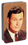 Ron Hayes, Vintage Actor Portable Battery Charger