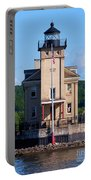 Rondout Lighthouse On The Hudson River New York Portable Battery Charger