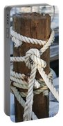Rope Fence Fragment Portable Battery Charger