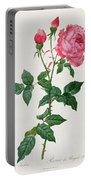 Rosa Indica Portable Battery Charger