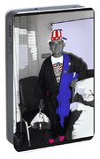 Russell Short Celebrating July 4th Tucson Medical Center 1990-2008 Portable Battery Charger