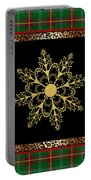 Rustic Snowflake-jp3695 Portable Battery Charger