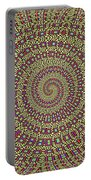 Saguaro Forest Abstract #2 Portable Battery Charger