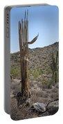 Saguaro Skeleton Portable Battery Charger