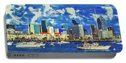 Sailing In San Diego Bay  Portable Battery Charger
