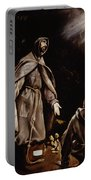 Saint Francis In Ecstasy Portable Battery Charger