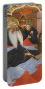 Saint Jerome Extracting A Thorn From A Lion's Paw Portable Battery Charger