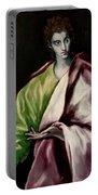 Saint John The Evangelist Portable Battery Charger