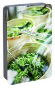 Salad Bar Buffet Fresh Mixed Lettuce Display Portable Battery Charger