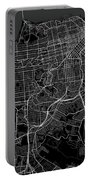 San Francisco California Usa Dark Map Portable Battery Charger