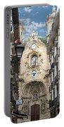 Basilica Of Saint Mary Of The Chorus - San Sebastian - Spain Portable Battery Charger