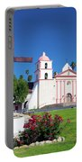 Santa Barbara Mission And Cross Portable Battery Charger