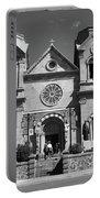 Santa Fe - Basilica Of St. Francis Of Assisi Portable Battery Charger