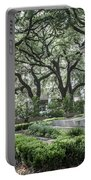 Historic Wright Square - Downtown Savannah Georgia Portable Battery Charger
