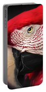 Scarlet Macaw - Ara Macao Portable Battery Charger