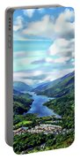 Scottish Landscape Portable Battery Charger