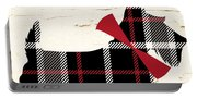 Scottish Terrier Tartan Plaid Portable Battery Charger