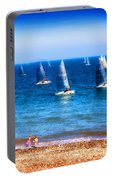 Seaside Fun Portable Battery Charger