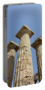 Segesta Greek Temple In Sicily, Italy Portable Battery Charger