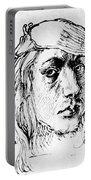Self Portrait 1493  Portable Battery Charger