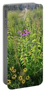 Shelley Kelly Prairie Wildflowers Portable Battery Charger