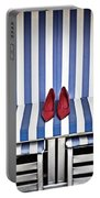 Shoes In A Beach Chair Portable Battery Charger