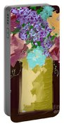 Sienna Floral Portable Battery Charger