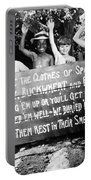 Silent Film: Little Rascals Portable Battery Charger