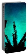 Silhouette Blues Portable Battery Charger