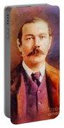 Sir Arthur Conan Doyle, Literary Legend Portable Battery Charger